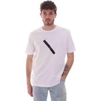 Oblačila Moški Majice s kratkimi rokavi Sseinse TE1820SS Biely