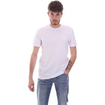 Oblačila Moški Majice s kratkimi rokavi Antony Morato MMKS01855 FA120022 Biely