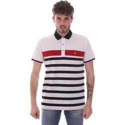 Oblačila Moški Polo majice kratki rokavi Navigare NV70028 Biely