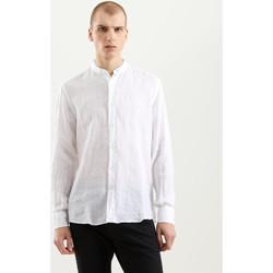Oblačila Moški Srajce z dolgimi rokavi Refrigiwear RM0C10100LI9110 Biely