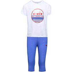 Oblačila Otroci Trenirka komplet Diadora 102175918 Biely