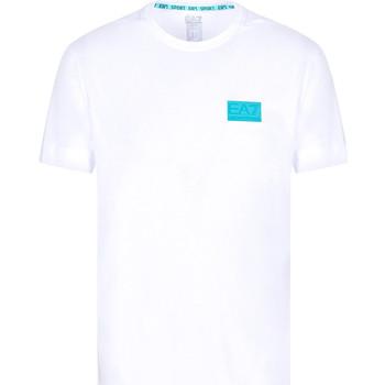 Oblačila Moški Majice s kratkimi rokavi Ea7 Emporio Armani 3KPT50 PJAMZ Biely
