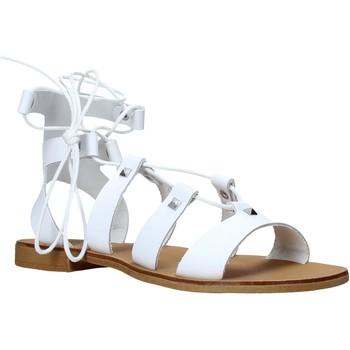 Čevlji  Ženske Sandali & Odprti čevlji Keys K-4880 Biely