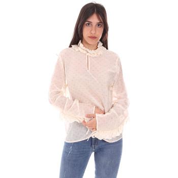 Oblačila Ženske Topi & Bluze Dixie C212P023 Biely
