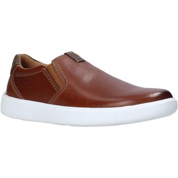 Čevlji  Moški Slips on Clarks 26158126 Rjav