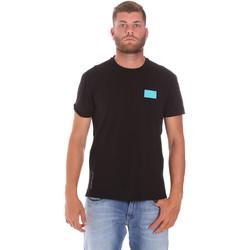 Oblačila Moški Majice s kratkimi rokavi Ea7 Emporio Armani 3KPT50 PJAMZ Črna
