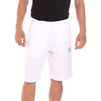 Oblačila Moški Kopalke / Kopalne hlače Ea7 Emporio Armani 3KPS59 PJ05Z Biely
