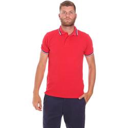 Oblačila Moški Polo majice kratki rokavi Sundek M779PLJ6500 Rdeča