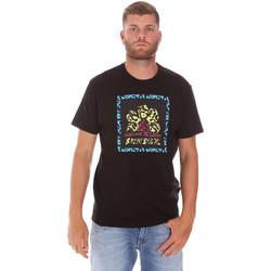 Oblačila Moški Majice s kratkimi rokavi Sundek M021TEJ78FL Črna