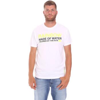 Oblačila Moški Majice s kratkimi rokavi Sundek M058TEJ7800 Biely