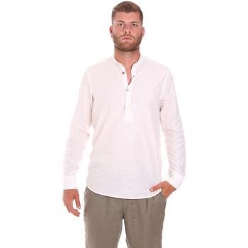 Oblačila Moški Srajce z dolgimi rokavi Sseinse CE611SS Biely