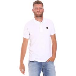 Oblačila Moški Polo majice kratki rokavi Refrigiwear RM0T25900PQ9002 Biely