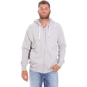 Oblačila Moški Puloverji Sundek M838JHF4900 Siva
