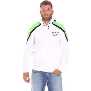 Oblačila Moški Puloverji Ea7 Emporio Armani 3KPME7 PJ3MZ Biely