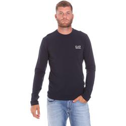 Oblačila Moški Majice z dolgimi rokavi Ea7 Emporio Armani 8NPT55 PJM5Z Modra