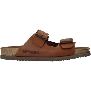 Čevlji  Moški Natikači Mephisto P5113700 Rjav