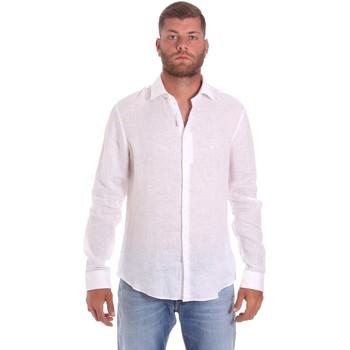 Oblačila Moški Srajce z dolgimi rokavi Calvin Klein Jeans K10K107232 Biely