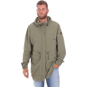 Oblačila Moški Parke Lumberjack CWB3321 001EU Zelena