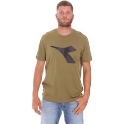 Oblačila Moški Majice s kratkimi rokavi Diadora 102175852 Zelena