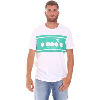 Oblačila Moški Majice s kratkimi rokavi Diadora 502176632 Biely