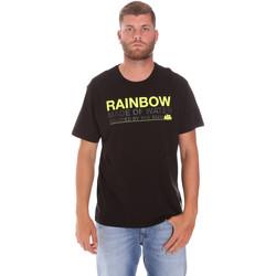 Oblačila Moški Majice s kratkimi rokavi Sundek M058TEJ7800 Črna