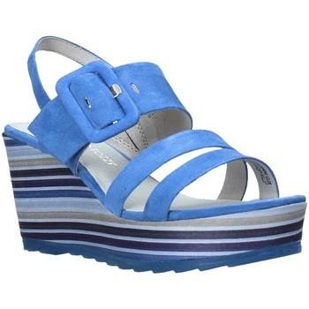 Čevlji  Ženske Sandali & Odprti čevlji Marco Tozzi 2-2-28336-26 Modra