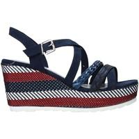 Čevlji  Ženske Sandali & Odprti čevlji Marco Tozzi 2-2-28375-26 Modra