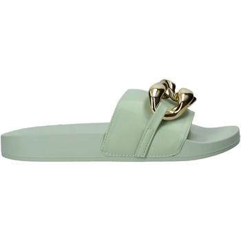 Čevlji  Ženske Natikači Gold&gold A21 FL162 Zelena