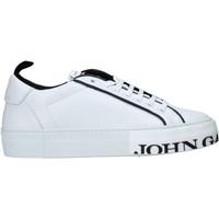 Čevlji  Moški Nizke superge John Galliano 11012/CP C Biely