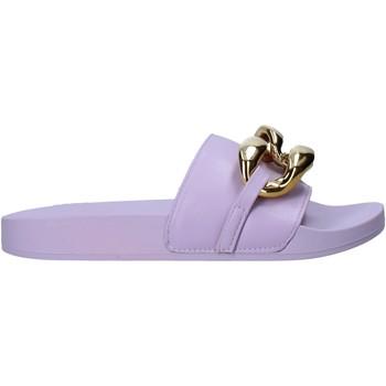 Čevlji  Ženske Natikači Gold&gold A21 FL162 Vijolična