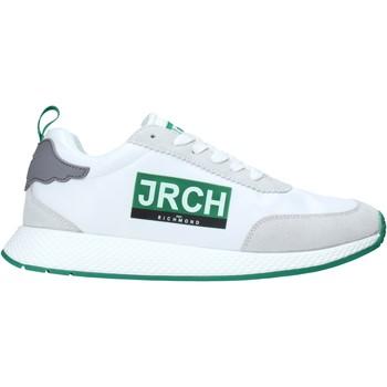 Čevlji  Moški Nizke superge John Richmond 10133/CP A Biely