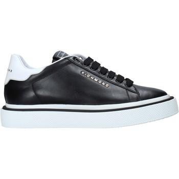 Čevlji  Moški Nizke superge John Richmond 10162 A Črna