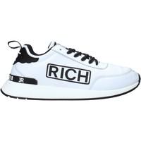 Čevlji  Moški Nizke superge John Richmond 204 C Biely