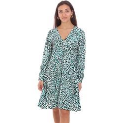Oblačila Ženske Kratke obleke Fracomina FR21SD2011W413N4 Zelena
