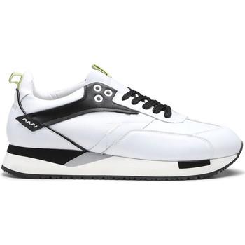 Čevlji  Moški Nizke superge Alberto Guardiani AGU101155 Biely