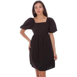 Oblačila Ženske Kratke obleke Fracomina F321SD1004W40001 Črna