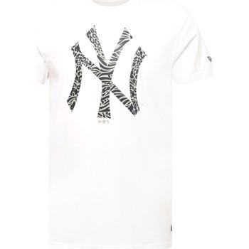 Oblačila Moški Majice s kratkimi rokavi New-Era 12369838 Biely