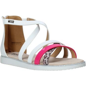 Čevlji  Deklice Sandali & Odprti čevlji Miss Sixty S20-SMS768 Biely