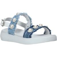 Čevlji  Deklice Sandali & Odprti čevlji Miss Sixty S20-SMS773 Modra