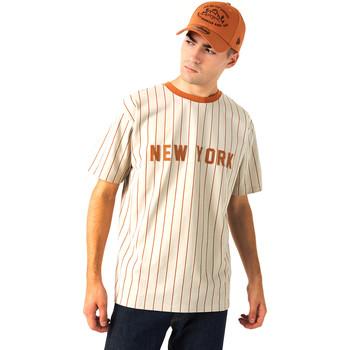 Oblačila Moški Majice s kratkimi rokavi New-Era 12720112 Bež