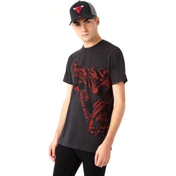 Oblačila Moški Majice s kratkimi rokavi New-Era 12720127 Črna