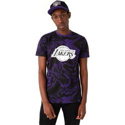 Oblačila Moški Majice s kratkimi rokavi New-Era 12720128 Črna