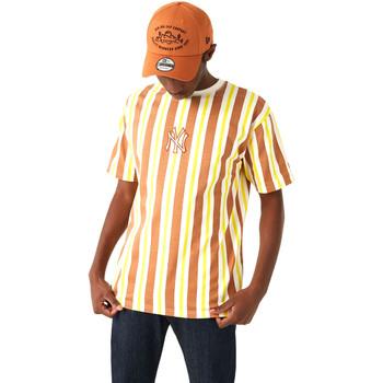Oblačila Moški Majice s kratkimi rokavi New-Era 12720144 Rjav