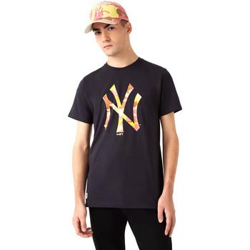 Oblačila Moški Majice s kratkimi rokavi New-Era 12720165 Črna