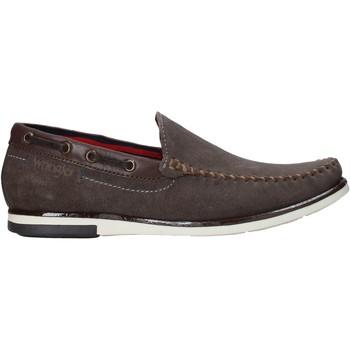 Čevlji  Moški Mokasini Wrangler WM01140A Siva
