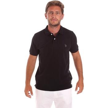Oblačila Moški Polo majice kratki rokavi U.S Polo Assn. 51007 49785 Črna