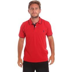 Oblačila Moški Polo majice kratki rokavi U.S Polo Assn. 51139 49785 Rdeča