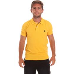 Oblačila Moški Polo majice kratki rokavi U.S Polo Assn. 51007 49785 Rumena