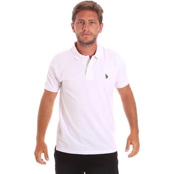 Oblačila Moški Polo majice kratki rokavi U.S Polo Assn. 51007 49785 Biely