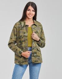 Oblačila Ženske Jakne & Blazerji Only ONLALLY Zelena